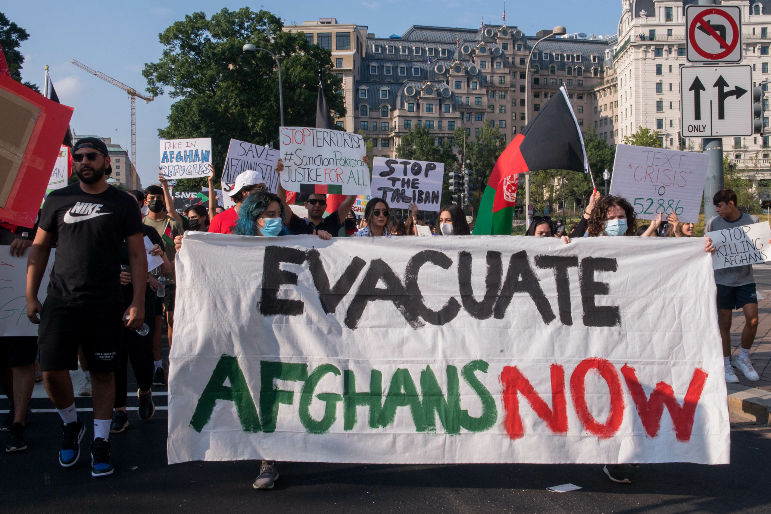 U.S. military has left Afghanistan; evacuation of Americans and Afghans moves into next phase
