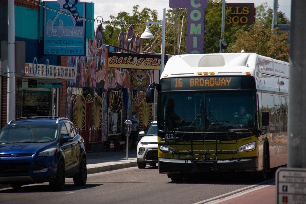 Albuquerque city bus